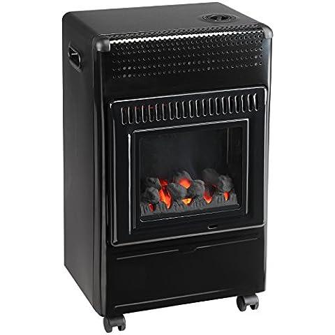 Favex 8591700Wien calefactor de de Gas, acabado madera negro 40x 29x 70cm