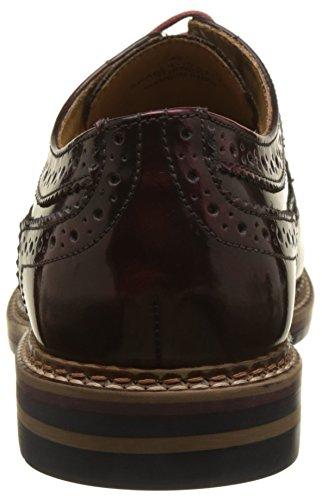 London Turner Base, Chaussures Homme Brouge Rouge (edge Hi Shine)