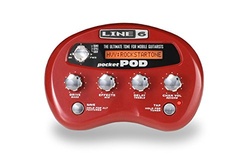 Line 6 Pocket POD Gitarrenprozessor - Amp Guitar Pocket