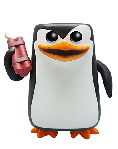Funko - Figurita Les Pingouins de Madagascar - Rico Pop 10cm - 0849803052775