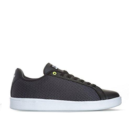 adidas Neo Cloudfoam Advantage Noir, Baskets Mode Homme