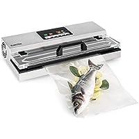 Klarstein FoodLocker 650 Envasador al vacío • Máquina de envasado al vacío • 650W • Pantalla digital • Tiempo de vacío y presión regulables • Apto para ...