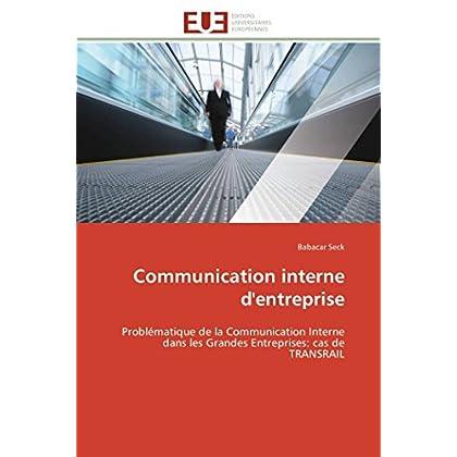Communication interne d'entreprise