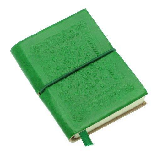 Fair Trade block notes piccolo colorato goffrato 75 x 95 mm verde
