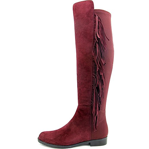 Marc Fisher Myndee Damen Rund Wildleder Wasserstiefel Dark Red