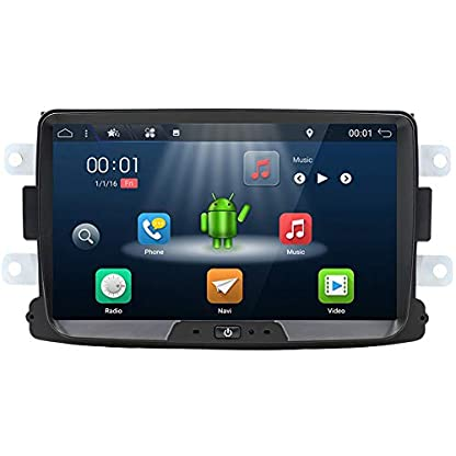 YUNTX-Autoradio-fr-Armaturenbrett-Stereo-Audio-mit-GPS-Navigationssystem-fr-Renault-Duster-2010-Autoradio-mit-Android-718-Zoll-718-Zoll-Multi-Touch-Kapitalbildschirm