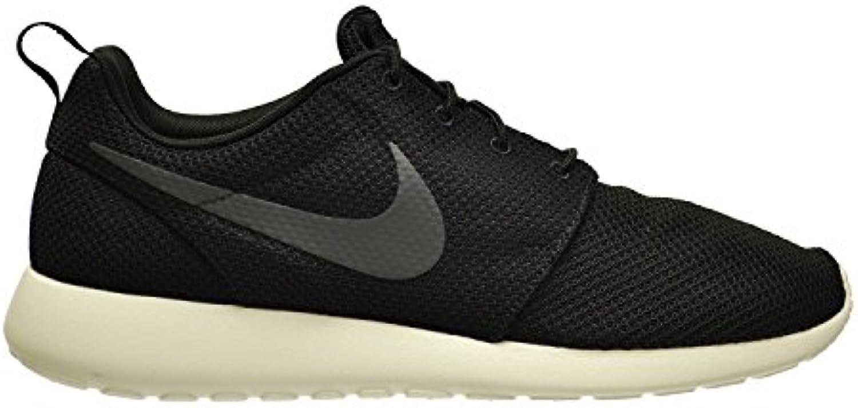 Nike Men'S Rosherun Running Shoe Black/Anthracite-Sail (13), Black/Anthracite-Sail, 47.5 D(M) EU/12.5 D(M) UK