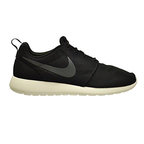 Nike Men's Rosherun Running Shoe Black/Anthracite-Sail (11), Black/
