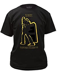 T. Rex Electric Warrior Metallic Gold Adult T-Shirt