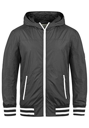 Blend Novan Herren Übergangsjacke Herrenjacke Jacke mit Kapuze, Größe:L, Farbe:Phantom Grey...