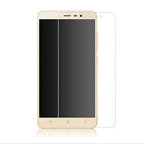 PES 0.3mm Tempered Glass for Xiaomi Redmi Note 3 [Cutout for Proximity Sensor], 0.3mm thickness, 9H Hardness, 2.5D Curved Edge, Reduce Fingerprint, No Rainbow, Bubble Free & Oil Stains Coating with Alcohol wet cloth pad & clean micro fibre Dry cloth, Anti Explosion Tempered Glass Screen Protector for Xiaomi Redmi Note 3