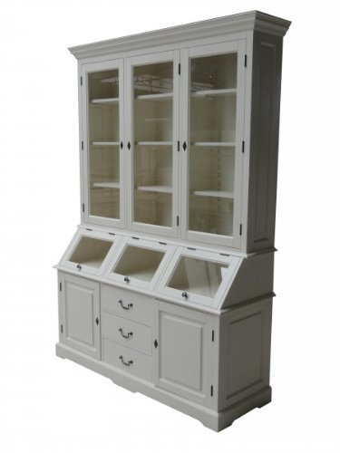 Shabby chic country style cabinet buffet cabinet 160 x 50 x 210 cm Mod5 - dining room cabinet