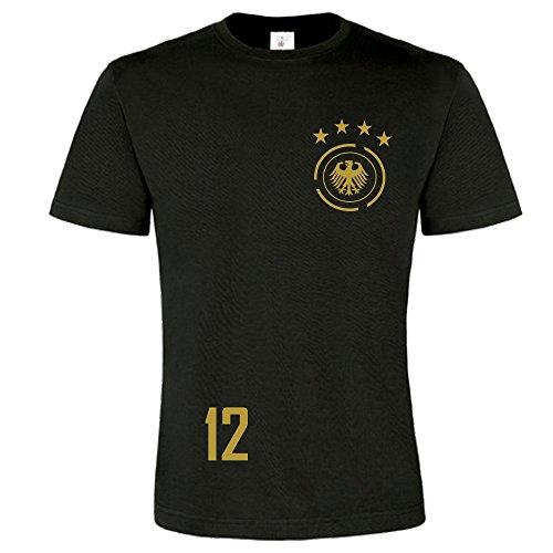 easy4fashion myfashionist Herren T-Shirt Fußball Trikot WM/EM Deutschland Trikot in Verschiedene Grössen (XXXXL)
