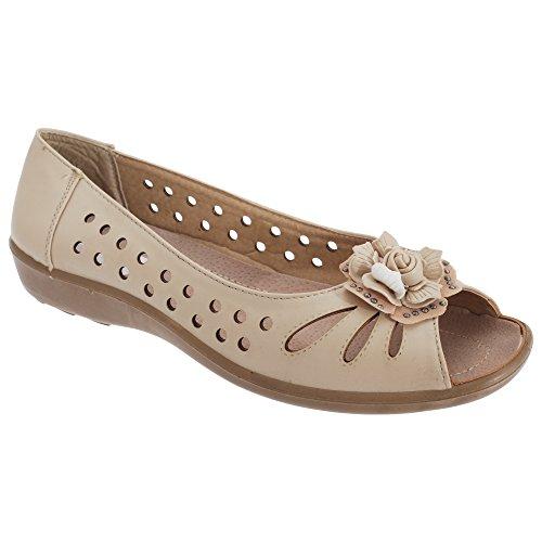Boulevard - Chaussures dété - Femme Beige
