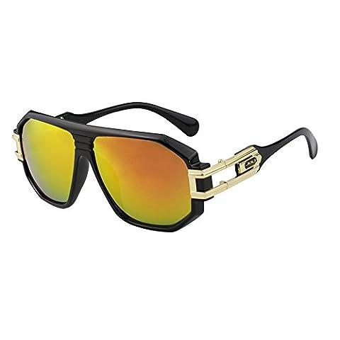 Mode Sport Grand Cadre Lunettes de soleil Marque Designer Coating Oculos homme BD4018