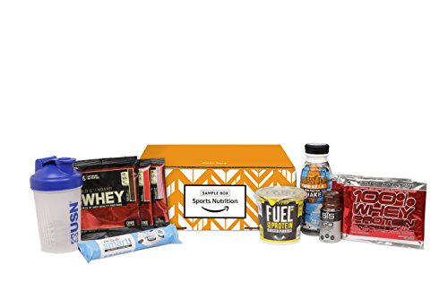 Amazon Bodypower Sports Nutrition Sample Box (£10 credit on selected Sports Nutrition and Slimming items with purchase)