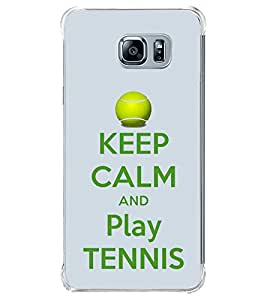 Fuson Designer Back Case Cover for Samsung Galaxy Note 5 :: Samsung Galaxy Note 5 N920G :: Samsung Galaxy Note5 N920T N920A N920I (Cheer Up Play Tennis tennis Love Player Champion)