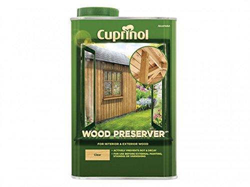 Cuprinol 5L Holzschutzmittel, transparent (Klar, Holz-konservierungsmittel)