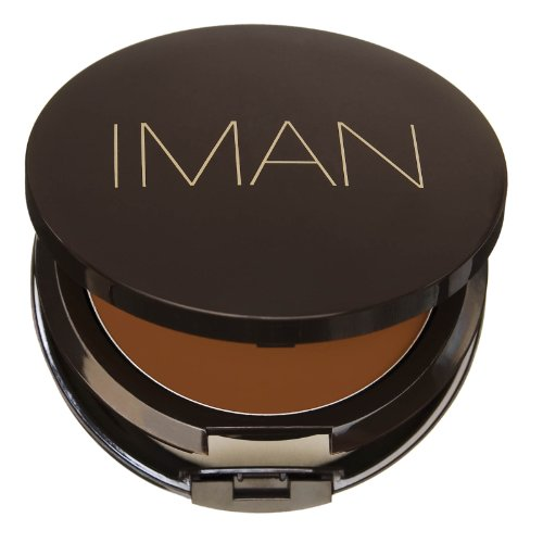 Iman Cosmetics Creme To Powder Foundation - Earth #4
