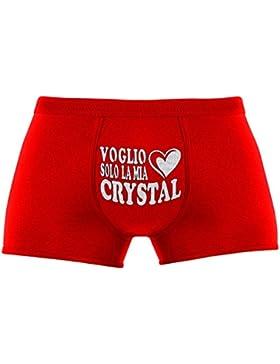 Regali originali per uomo | Voglio solo la mia Crystal | Compleanno |Natale | Regalo di Natale