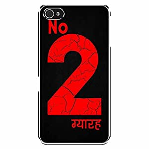 """Bhishoom Designer Printed 2D Transparent Hard Back Case Cover for """"Apple iPhone 4/4S"""" - Premium Quality Ultra Slim & Tough Protective Mobile Phone Case & Cover"""