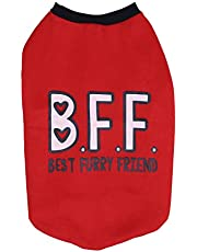 Choostix BFF Winter T-Shirt, Red (Size 18)