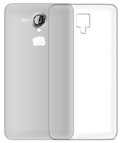 Stromax High Quality Ultra Thin Transparent Silicon Back Cover For Micromax Canvas Pulse 4G E451  available at amazon for Rs.125