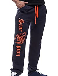 Tangda Herren Hose Casual elastische Taillen Hosen Lange Baumwolle Freizeithose Sport Hose Größe M L XL XXL - Farbe Wählbar