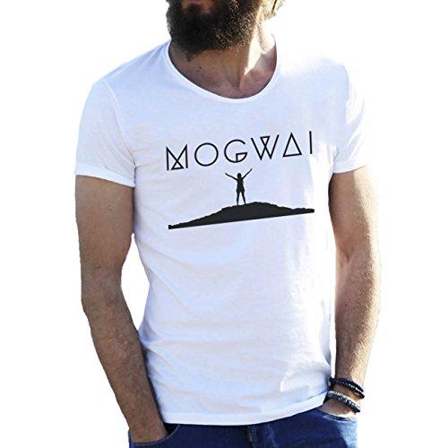Mogwai Cool Art Logo By Dune Herren T-Shirt weiße