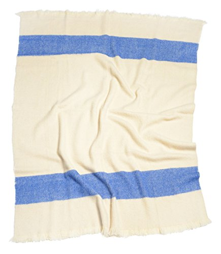 perelic-blanket-160x210-cm-2000-g-with-2-coloured-stripes-100-pure-new-wool-blue-150-x-200-cm