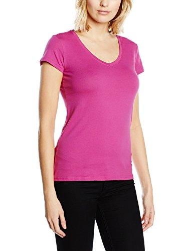 Stedman Apparel Claire (V-Neck)/ST9710 Premium, T-Shirt Donna, Cupcake Pink, (Cupcake Donne Pink T-shirt)