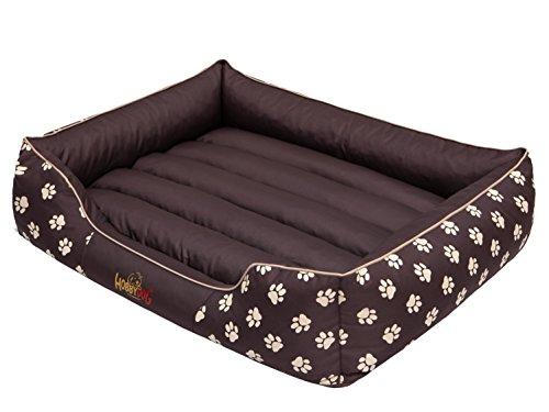 hobbydog-prebwl3-hundebett-hundesofa-hundekorb-tierbett-prestige-grosse-xxl-108-x-88-cm-braun-mit-pf