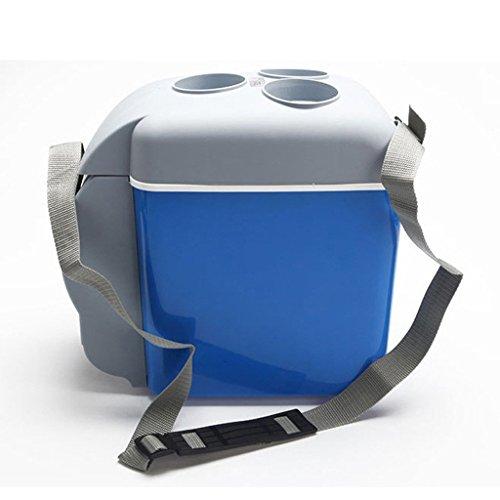 LT&NT Mini Réfrigérateur Frigo de Voiture 7,5 litres 12V électrique portatif Refroidissez Le Petit congélateur pour Le Pique-NIC de Voyage extérieur campant