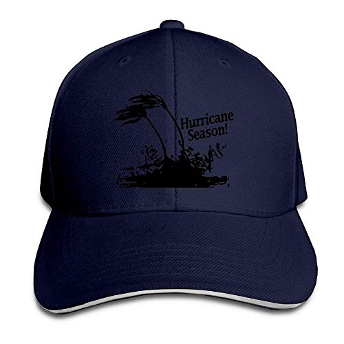 Monicago Hats Unisex Hurricane Season Adult Adjustable Snapback Hats Sandwich Cap