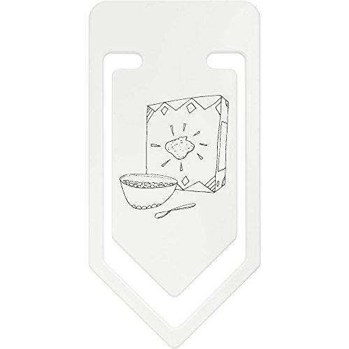 Azeeda 141mm 'Box und Schüssel Müsli' Riesige Plastik Büroklammer (CC00029174)
