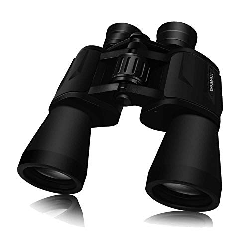 Largavistas prismaticos 10x50, Tripode Binoculares Largo Alcance, Binocular para Observar Aves, ver Las Estrellas, Naturaleza (Versión Actualizada)