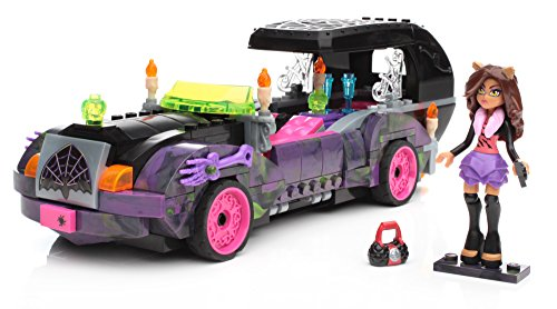Monster High Mega Bloks Moviemobile 301pc Construction Play Set Toy