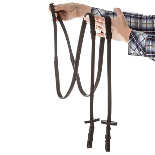 Horseware Rambo Micklem Multi Reins Full Black