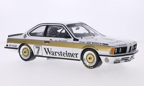 bmw-635-csi-no7-brun-pista-warsteiner-dpm-1984-modello-di-automobile-modello-prefabbricato-cmr-118-m