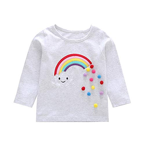 Novità Natale Babbo Natale Cappello Unicorno Per Bambini Bambine Bambini T-shirt Girocollo Regalo di Natale