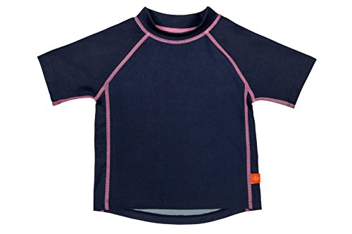 Lässig Splash & Fun Short Sleeve Rashguard / Baby Badeshirt / UV-Schutz 50+ girls, L / 18 Monate, navy