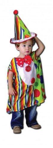 Für Kostüme Kleinkinder Clown (Sofias Schrank Childerns Kleinkinder Kostüm Clown, Circus, Klinke In Box, Kostüm Umhang: 2, 3,)