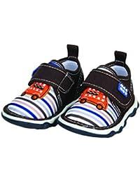 Mee Mee First Walk Baby Shoes with Chu Chu Sound (23 EU, Brown)