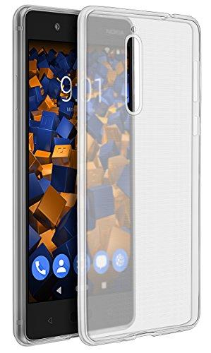 mumbi UltraSlim Hülle für Nokia 8 Schutzhülle transparent (Ultra Slim - 0.70 mm)