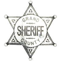 Insignia de la estrella del sheriff del condado de Grand