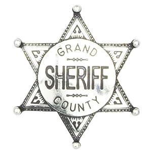Abzeichen Sheriffstern Grand County