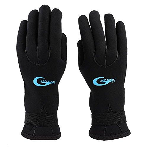9345d22468485 VGEBY1 Guanti da Sub, Scuba Diving Guanti protettivi Snorkeling Five  Fingers Wetsuit Gloves(M