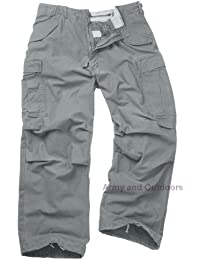 Unknown - Pantalon -  Homme Gris Gris