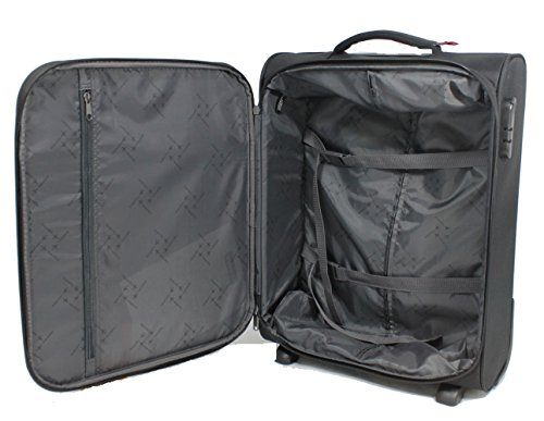 Travelite CABIN 2Rad Bordtrolley, 90237-01 Koffer, 55 cm, 44 L, Schwarz -