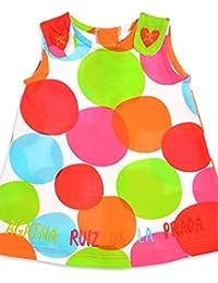 AGATHA RUIZ DE LA PRADA - Vestido, bebe niña, Color: multicolor (18 meses)